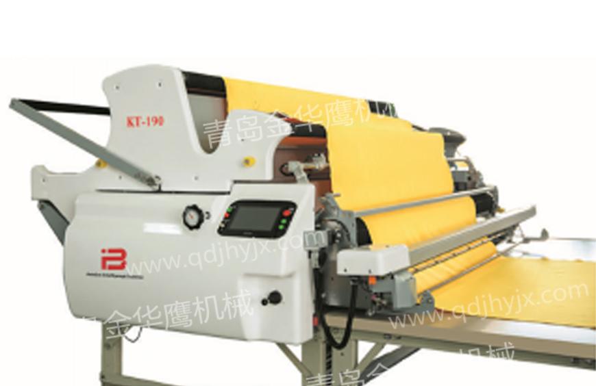 KT-160泡棉机针梭织两用型拉布机